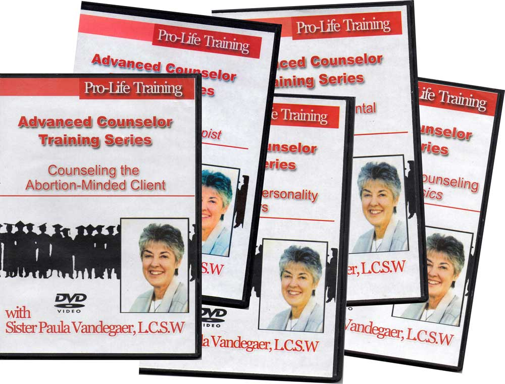 Advanced Counselor Training DVDs