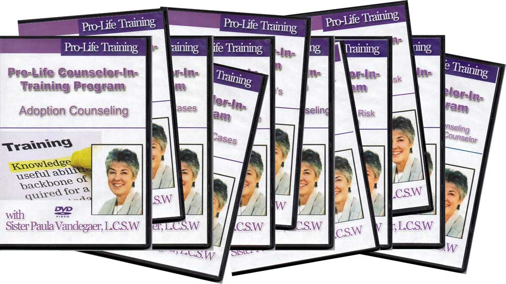 Pro-Life Counselor-in-Training Program DVDs